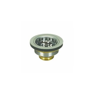 """Proflo PF1433BR Kitchen Sink Drain Assembly and Basket Strainer - Fits Standard 3-1/2"""" Drain Connections"""