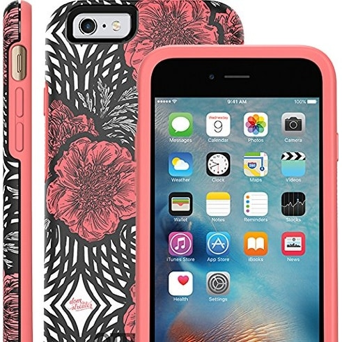 OtterBox Symmetry Series Case for iPhone 6, iPhone 6S - Pink Swirl Certified Refurbished