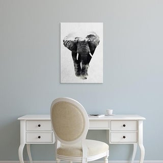 Easy Art Prints Andreas Lie's 'Elephant' Premium Canvas Art