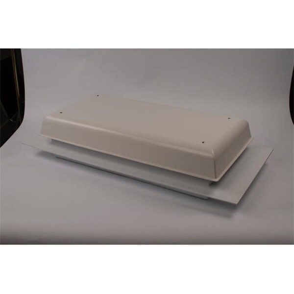 Tamarack Tti Tc1000hw Solid Roof Wall Whole House Fan White