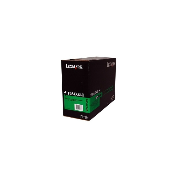 Lexmark T654X84G Lexmark Extra High Yield Toner Cartridge - Black - Laser - 36000 Page