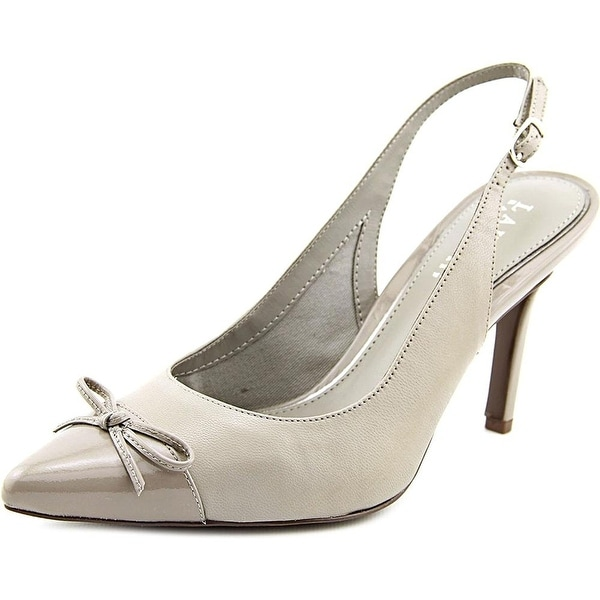 LAUREN by Ralph Lauren Womens SIENNA Pointed Toe SlingBack Classic Pumps