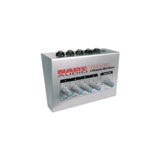 Nady Systems Inc. NDYMM141B Nady MM-141 4-Channel Mini Mixer