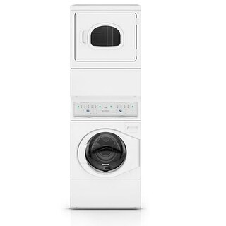 Speed Queen ATEE9AGP173T01 Frontload Stacked Washer/Dryer - Electric