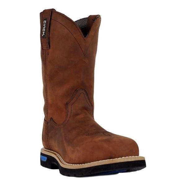 Cinch Work Boots Men WRX Master Ceramic Safety Toe Crazy Horse