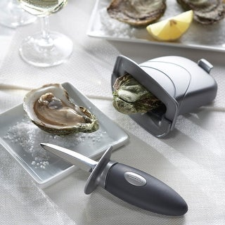 Oyster Knife Set Of 2-Grey