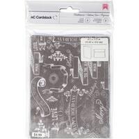 Chalkboard - American Crafts Cards W/Envelopes 8/Pkg