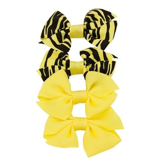 Wild Girl Grosgrain Bow Set