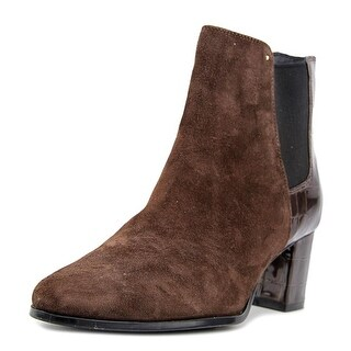 Calvin Klein Felda Women  Round Toe Synthetic Brown Ankle Boot