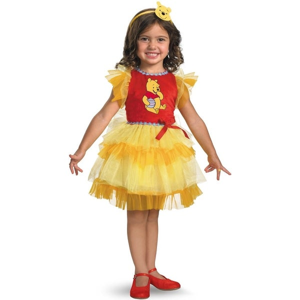 Frilly Winnie The Pooh Costume Size 12-18 M