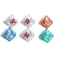 10 Sided Double Dice Set Of 6