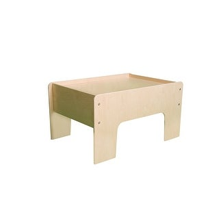 Little Colorado 031UNF Half Play Table, Unfinished