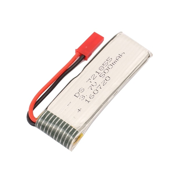3.7V 500mAh Charging Lithium Polymer Li-po Battery JST-2P for RC Airplane