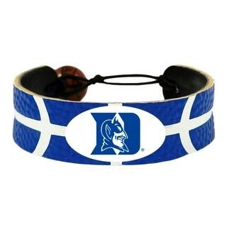 Duke Blue Devils Team Color NCAA Gamewear Leather Basketball Bracelet