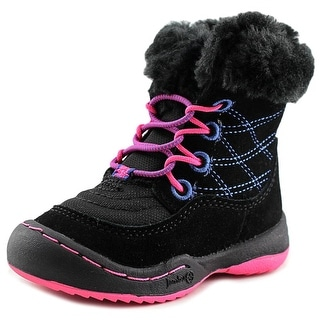 Jambu KD Collett-T Toddler Round Toe Synthetic Black Winter Boot