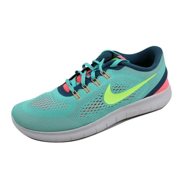 Nike Women's Free RN Hyper Turquoise/Ghost Green 831509-302 Size 10.5