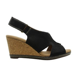 Link to Clarks Womens Helio Float 4 Open Toe Casual Platform Sandals Similar Items in Women's Shoes