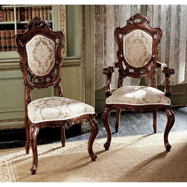 Design Toscano Toulon French Rococo Chair Set