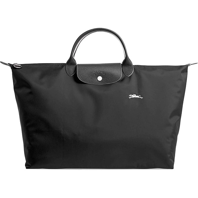Large Le Pliage Tote Bag Black