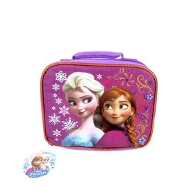 Disney Frozen Elsa & Anna Insulated Lunch Bag Lunch Tote Bag
