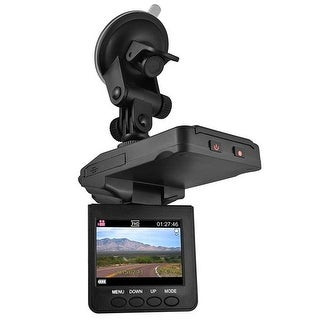 Blaupunkt BPDV122 HD Dashcam, 2.5 in.