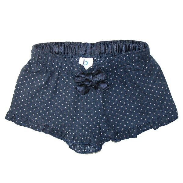 Boxercraft Girls' Ruffle Hem Flannel Shorts