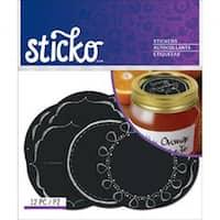 Chalk Mason Jar Labels - Sticko Label Stickers