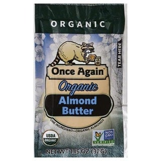 Once Again - Organic Almond Butter - Squeeze Pack ( 10 - 1.15 OZ)