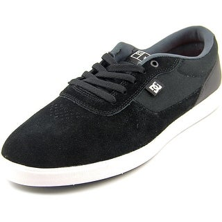 DC Shoes Switch S Lite Round Toe Suede Sneakers