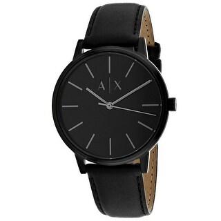 Armani Exchange Men's Classic Black Dial Watch