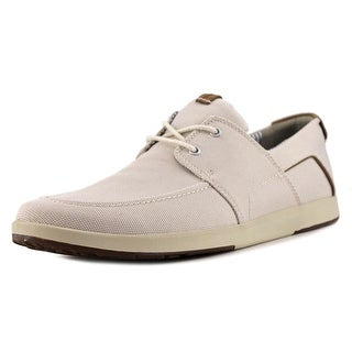Clarks Norwin Go Men Round Toe Canvas Tan Loafer