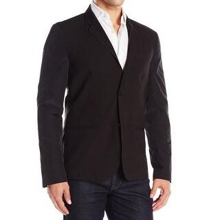 Kenneth Cole Reaction NEW Black Men Size Medium M Two Button Sport Coat