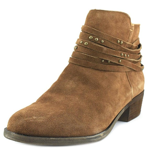Kensie Gilberto Women Round Toe Suede Tan Ankle Boot