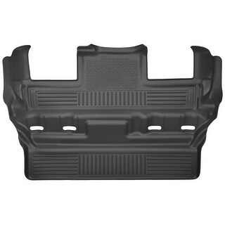 Husky Weatherbeater 2015-2016 Cadillac Escalade 3rd Row Bucket Black Rear Floor Mats/Liners