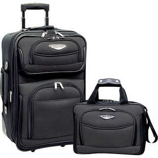 Travel Select Amsterdam Two Piece Carry-On Luggage Set - Grey
