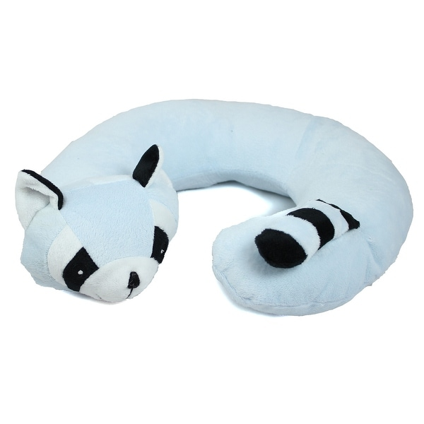 Animal Travel Pillow : Northpoint Animal Travel Neck Pillow Raccoon - Free Shipping On Orders Over $45 - Overstock.com ...