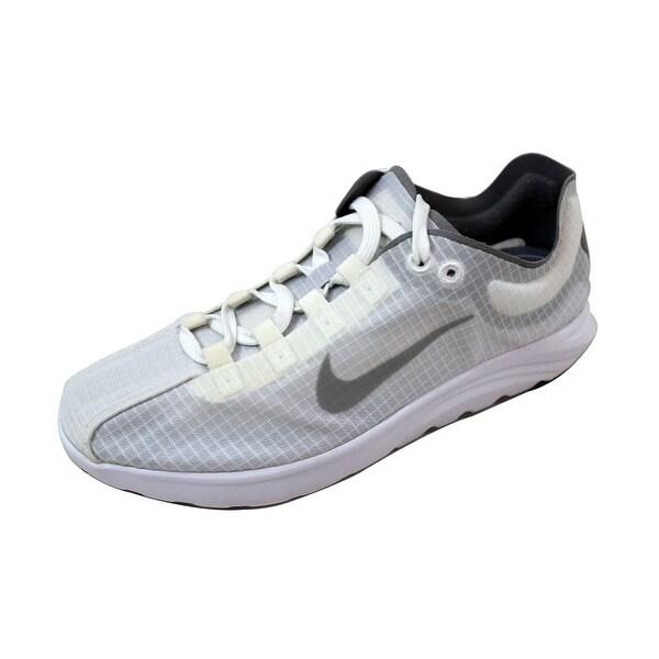 Nike Women's Mayfly Lite SI White/Reflect Silver-Wolf Grey 881196-100 Size 7.5