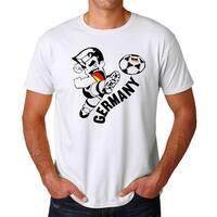 Sport Kick Of Germany Men's White T-shirt