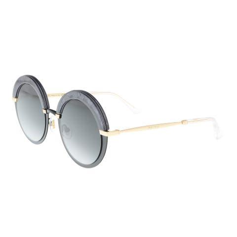 Jimmy Choo Gotha/S 0THP Black Round Sunglasses - 50-22-145