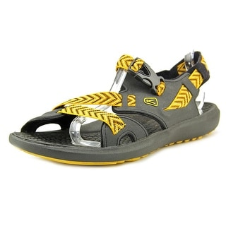 Keen Maupin Men Open-Toe Synthetic Yellow Sport Sandal