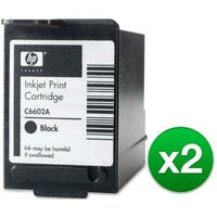 HP Black POS Ink Cartridge High Yield (C6602A) (2-Pack)