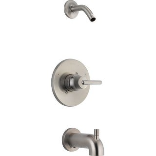 Delta T14459-LHD  Trinsic Monitor 14 Series Single Function Pressure Balanced Tub and Shower Trim Package
