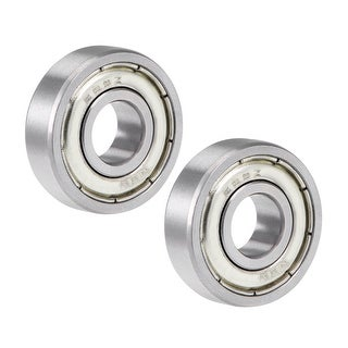 609ZZ Deep Groove Ball Bearing 9x24x7mm Double Sealed Chrome Steel Bearings 2pcs - 2 Pack - 609ZZ (9*24*7)