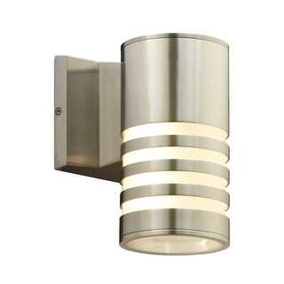 "PLC Lighting 4065 Decker 2 Light 4-3/4"" Wide Integrated LED Outdoor Wall Sconce"