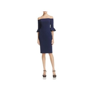 Black Halo Womens Cocktail Dress Sheath Special Occasion