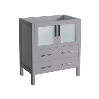"""Fresca FCB6230  Torino 30"""" Single Free Standing Engineered Wood Vanity Cabinet Only"""
