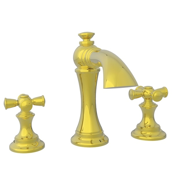 Newport Brass 2440 Double Handle Widespread Bathroom Faucet from the Sutton Collection