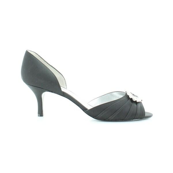 Nina Crystah Women's Heels Black - 6.5