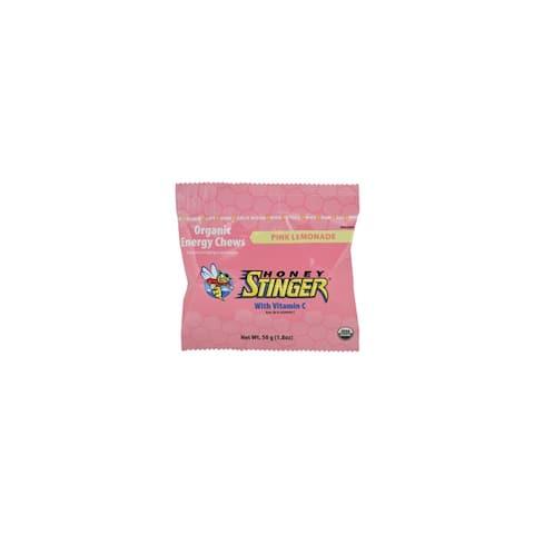 Honey stinger 72512 honey stinger pink lemonade energy chews