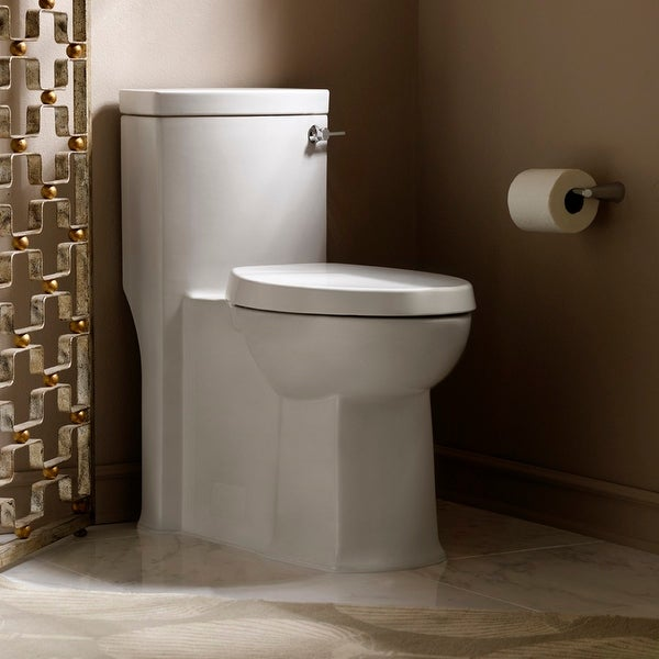 American Standard 2891.813 Boulevard 1.28 GPF One-Piece Elongated Comfort Height Toilet with Right Hand Tank Lever - White